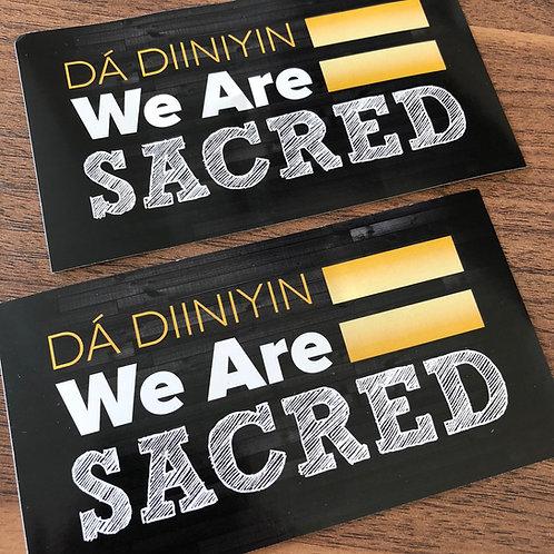 Dá Diiniyin Sticker