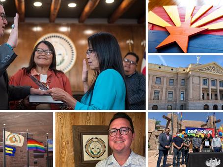 Carl Slater for Arizona State Representative - Council Delegate and LGBTQIA+ Champion endorsed.
