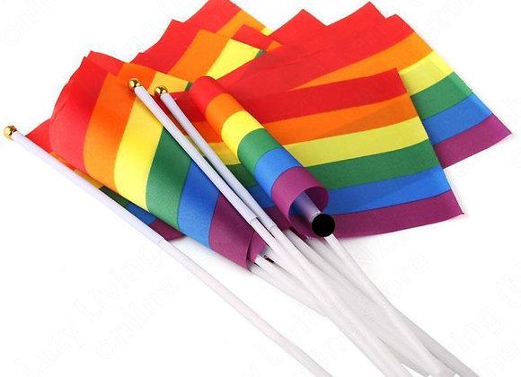 Pride Flag & Stonewall Sticker