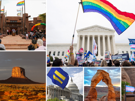 Navajo Nation celebrates landmark victory for LGBTQ+ Rights, Urges Tribal Leaders to do the Same