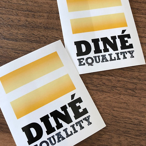 Diné Equality Sticker