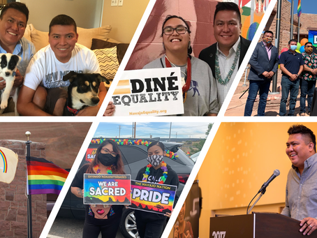 Meet the Executive Director of Diné Pride 2021
