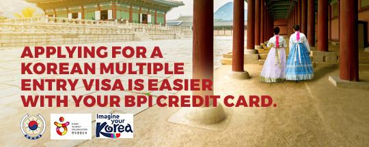 multiple entry korean visa bpi