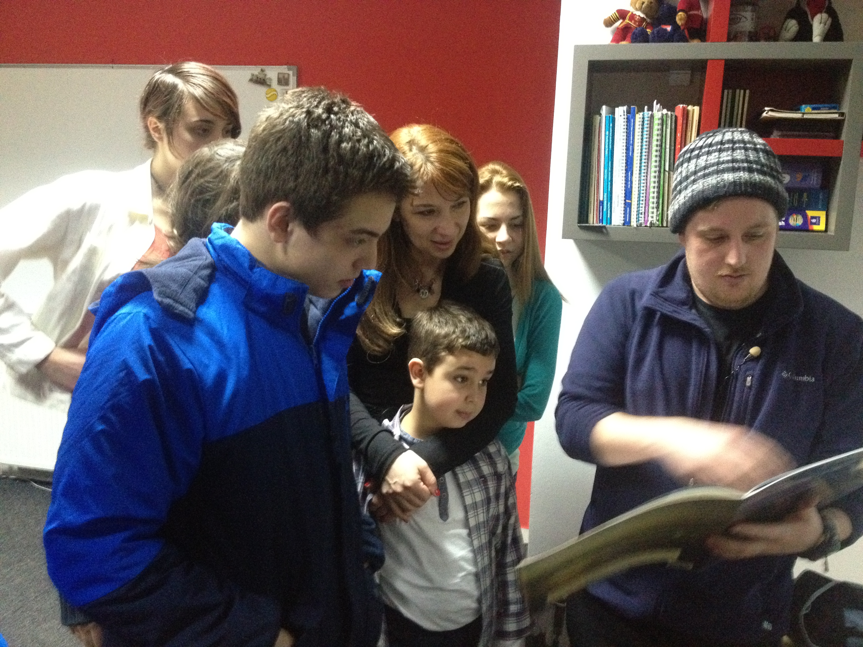 Kevin sa djacima u LS DAISY