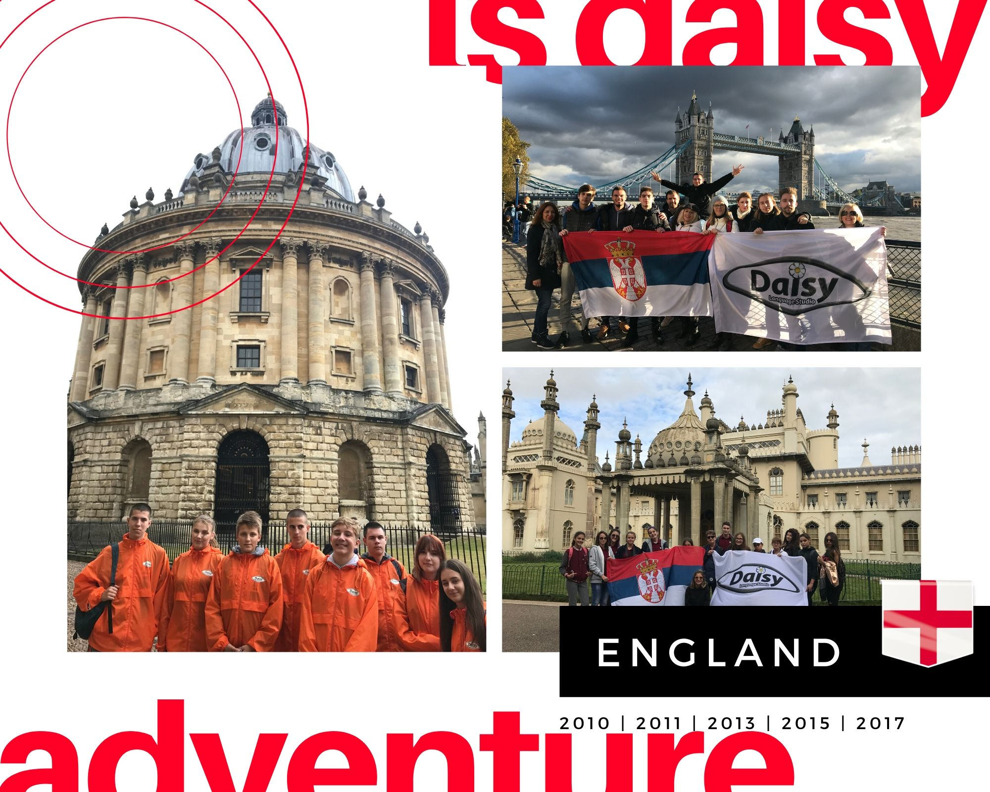 DAISY Adventure England