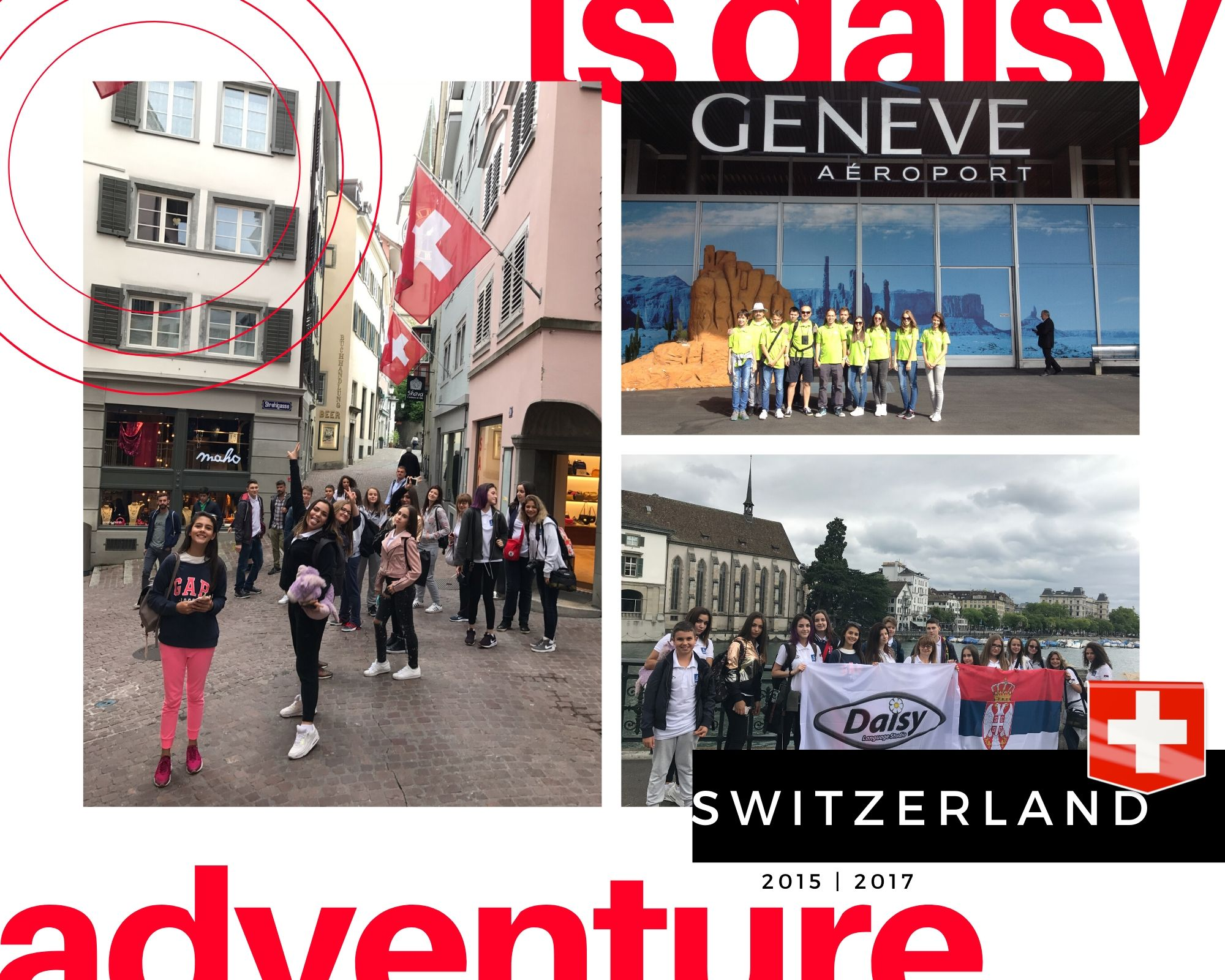 DAISY u Svajcarskoj