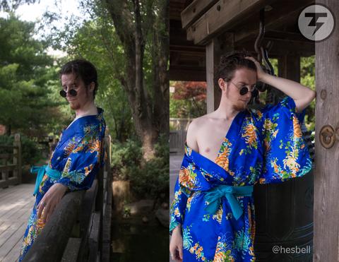 """Sexy Calendar - June - """"Kimono"""""""