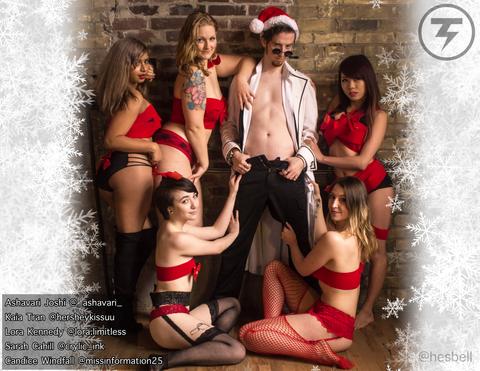 """Sexy Calendar - December - """"Gifts"""""""