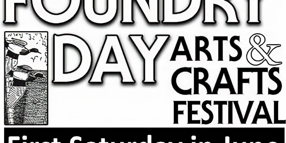 CANCELLED - Foundry Day Arts & Craft Festival