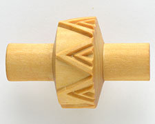 RS014 1.5CM ROLLER DOUBLE TRIANGLE
