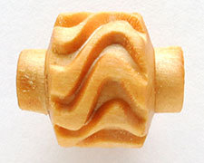 MRL03  MKM 10MM MINI ROLLER, WAVY PATTERN 1