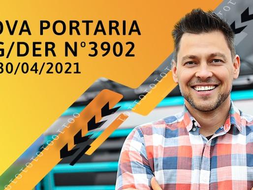 Portaria MG/DER 3902