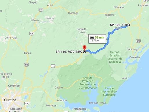 Trecho da BR-116/SP está LIBERADO para tráfego de CVC'S 9 eixos