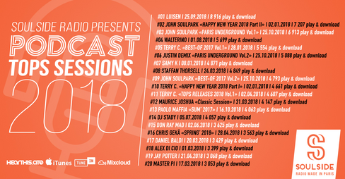 2018 Best Soulside Radio Podcast Exclusive Sessions