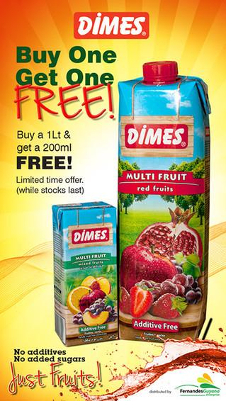 dimes Juices buy one get one free.jpg