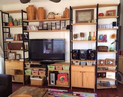 Mueble TV fierro