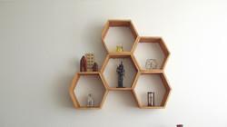 Repisas Hexagonales