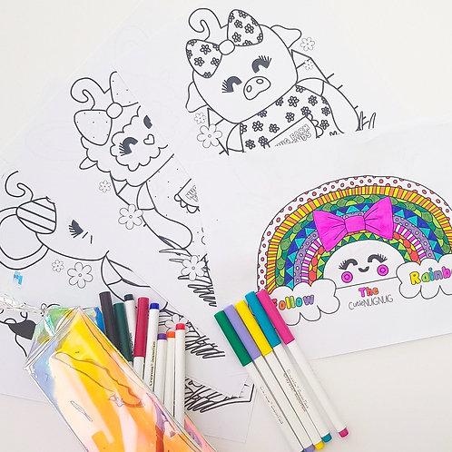 Rainbow NUG Colouring