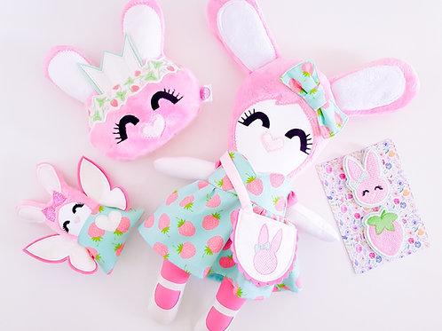 Spring Bunny NUGdoll Giftset