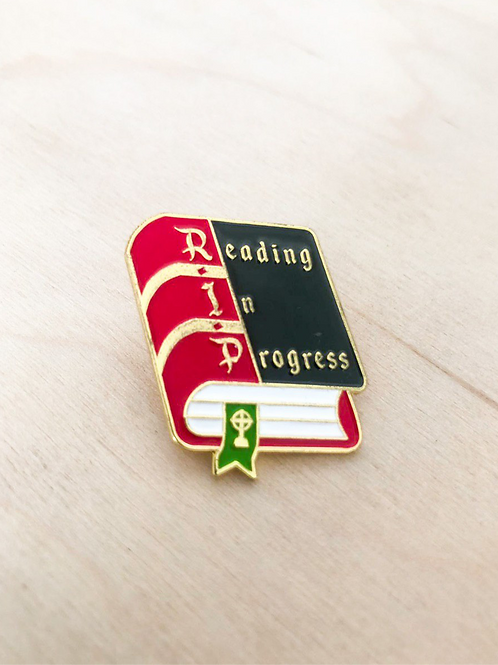 Enamel Pins - Reading In Progress