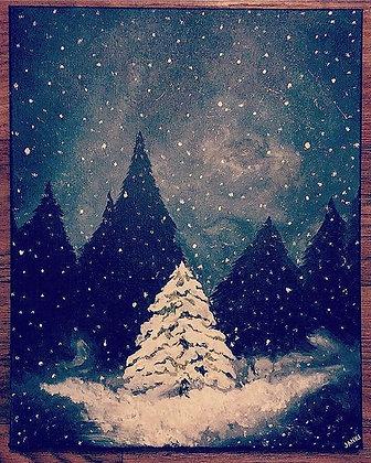 Snowy Spotlight