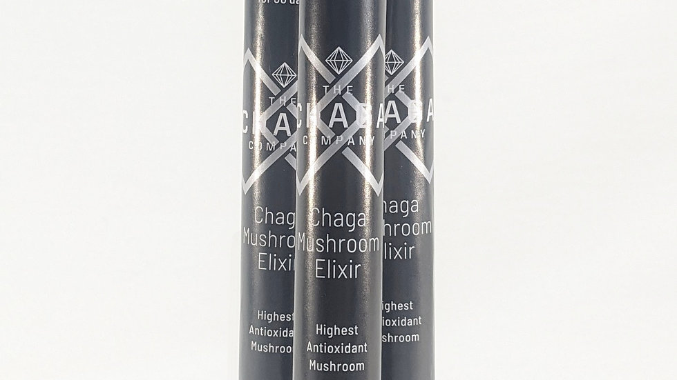 3 pack Chaga mushroom Elixir Test Tubes