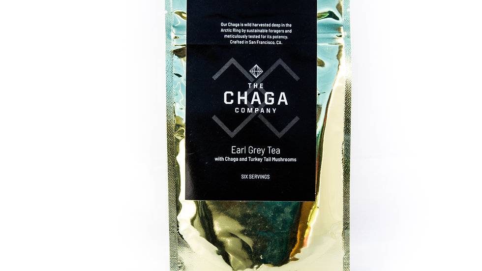 Earl Grey with Chaga and Turkey Tail