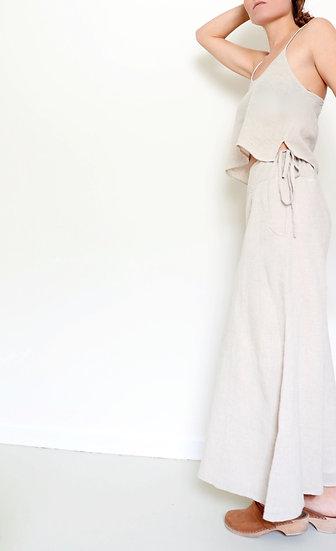 Linen Culottes (Natural)