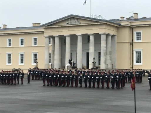 Reflections on the Royal Military Academy Sandhurst – Commandant's Parade