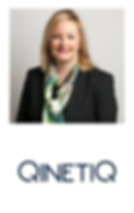 Michelle Cummins with QinetiQ Logo_edite