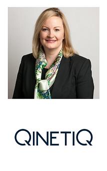 Michelle Cummins with QinetiQ Logo_edite