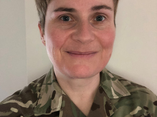 Equality of Opportunity Award Finalist: Rebecca Smith (Army)
