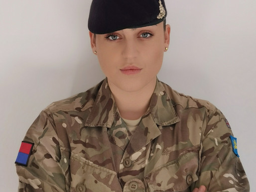 Inspirational Award Finalist: Bdr Emma Owen (The Army)