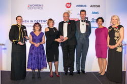 Women in Defence Awards-INc Teamwork win