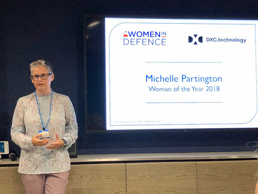 An Evening with Michelle Partington: Woman of the Year 2018