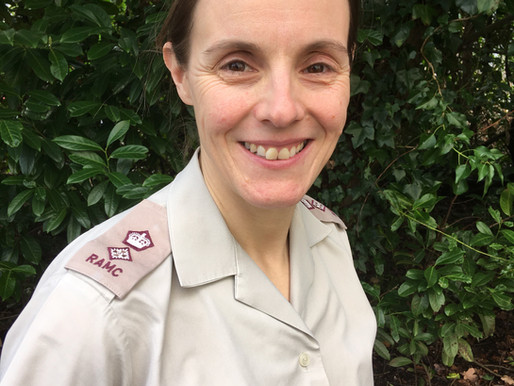 Innovation Award Finalist: LT Colonel Emma Hutley (Army)