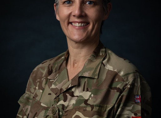 In Conversation with Major General Sharon Nesmith