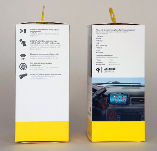 Scosche Vapor packaging