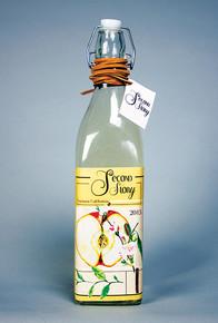 Second Story bottle design