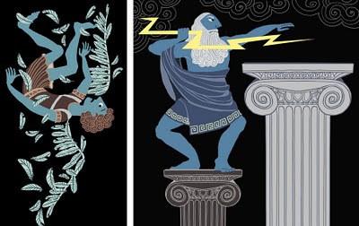 Zeus and Deadalus