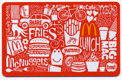McDonald's Arch Card