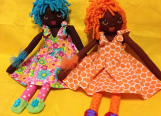 The Simple Talents and Tools Needed to Make Black Rag Dolls!