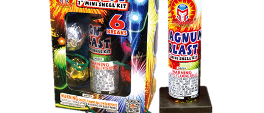 "Magnus Magnum Blast 1"" Six Shot Artillery Shell"