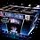 Thumbnail: KNITRO PYRO SERIES NEON BLUE PEONY OVER BLUE MINES W GLOW