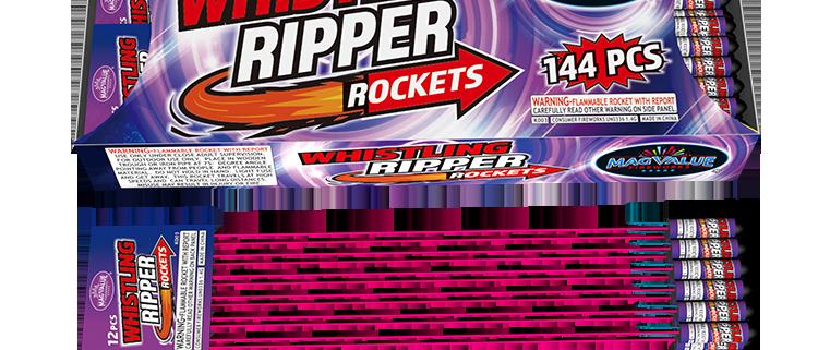 MAGNUS WIHISTLING RIPPER BOTTLE ROCKETS
