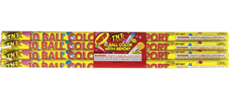 10 Ball Color Candle with Report