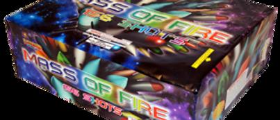 Mass of Fire 156 Shot Z Pattern Grand Finale