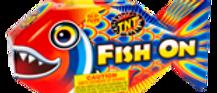 TNT FISH ON FOUNTAIN