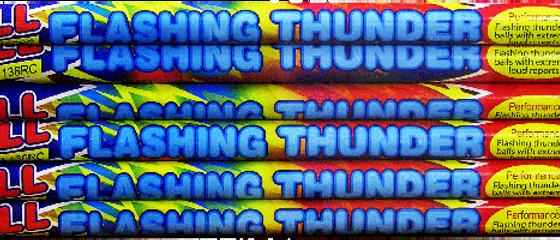 10 Ball Flashing Thunder Candle