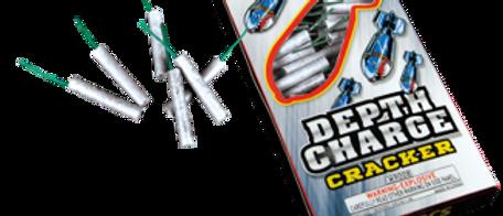"Depth Charge 1 1/2"" Waterproof Crackers 108 Count"
